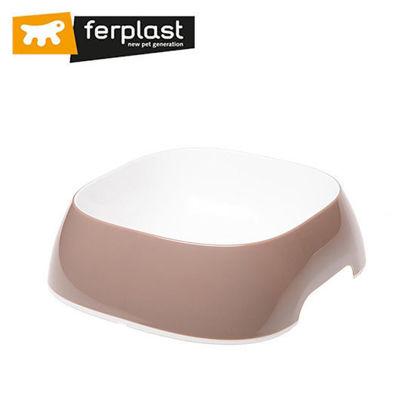 Picture of Ferplast Glam Medium Dove Grey Bowl