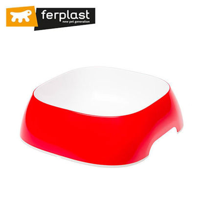 Picture of Ferplast Glam Medium Red Bowl