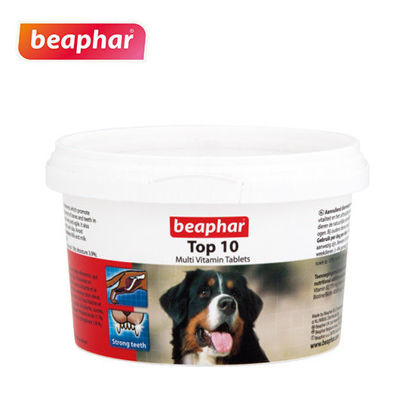Picture of Beaphar Top 10 Dog Vitamins 180tabs