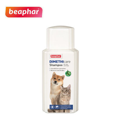Picture of Beaphar Dimethicare Shampoo for Dogs & Cats 200ml