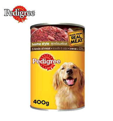 Picture of Pedigree Can 5 Kinds of Meat 400g