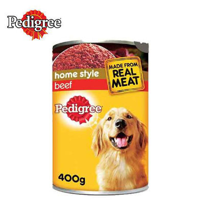 Picture of Pedigree Beef Canned Dog Food 400g