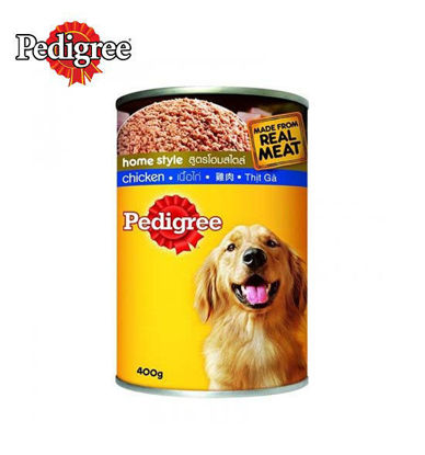 Picture of Pedigree Chicken Canned Dog Food 400g