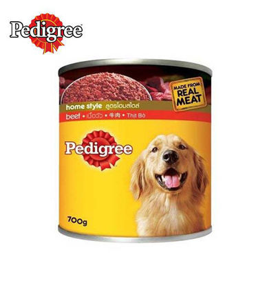 Picture of Pedigree Beef Canned Dog Food 700g