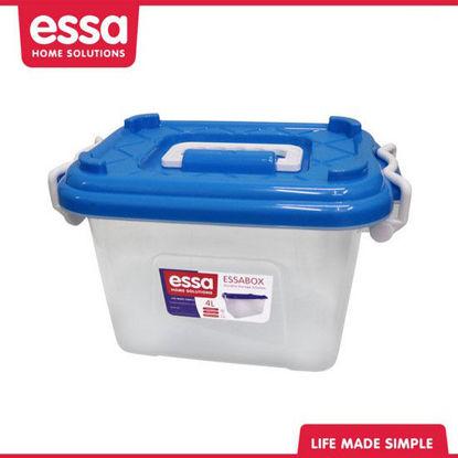 Picture of Essabox Durable Storage Solution 4L Blue