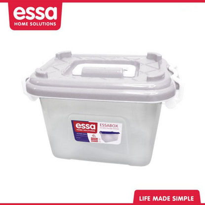 Picture of Essabox Durable Storage Solution 4L White