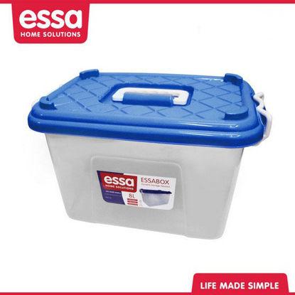 Picture of Essabox Durable Storage Solution 8L Blue
