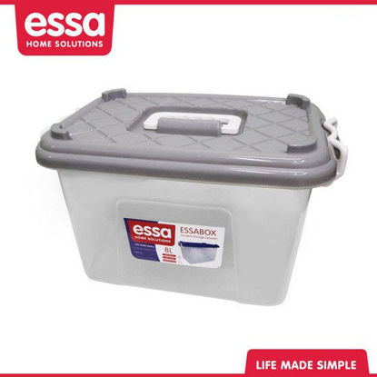 Picture of Essabox Durable Storage Solution 8L Gray