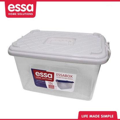 Picture of Essabox Durable Storage Solution 15L White