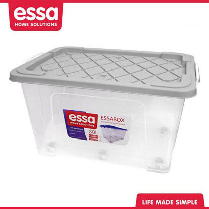 Picture of Essabox Durable Storage Solution 30L Gray