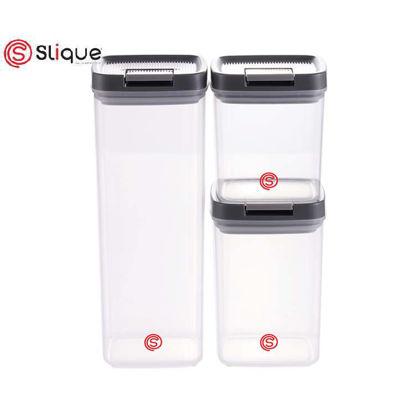 Picture of SLIQUE Premium Storage Jar Set 3 pcs Large
