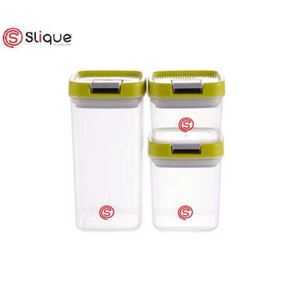 Picture of SLIQUE Premium Storage Jar Set 3 pcs Small