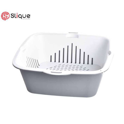 Picture of SLIQUE Fruit and Vegetable Basket (Gray)