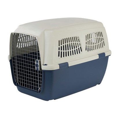 Picture of Marchioro Clipper Cayman Pet Carrier Tan/Blue