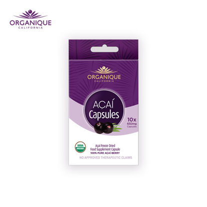 Picture of Organique Acai Freeze Dried Capsules Blister Pack 10s