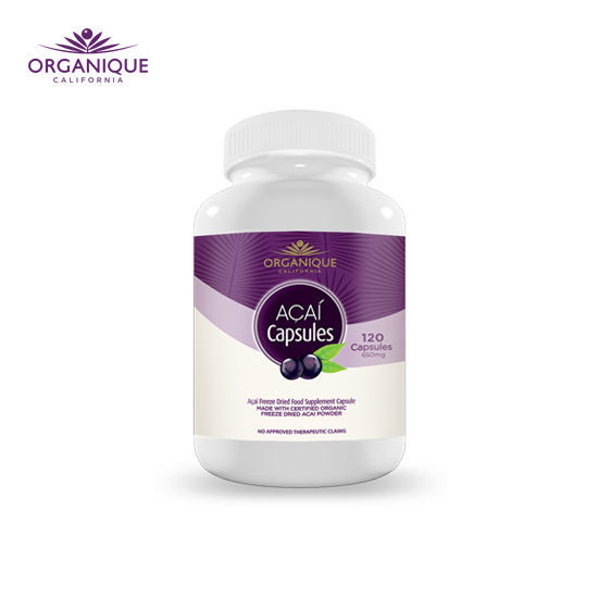 Picture of Organique Acaí Freeze Dried Capsules 120s