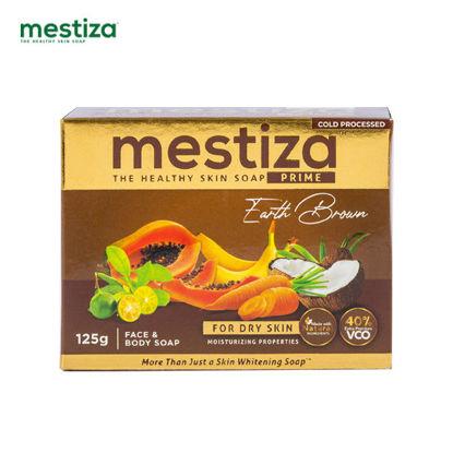 Picture of Mestiza Face & Body Soap Prime Earth Brown 125g