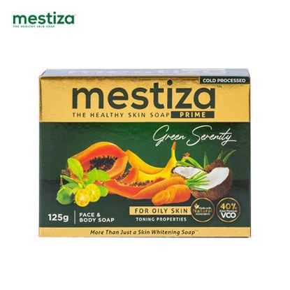 Picture of Mestiza Face & Body Soap Prime Green Serenity 125g