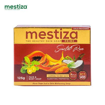 Picture of Mestiza Face & Body Soap Prime Scarlet Rose 125g