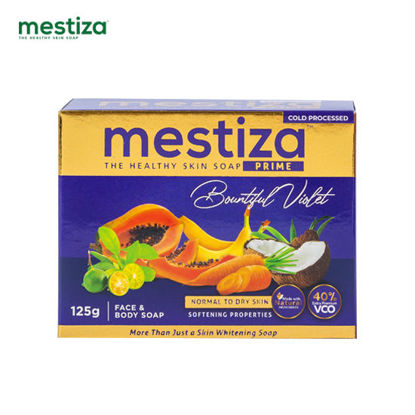 Picture of Mestiza Face & Body Soap Prime Bountiful Violet 125g