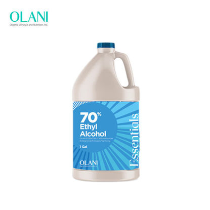 Picture of OLANI Essentials 70% Ethyl Alcohol 1 Gal