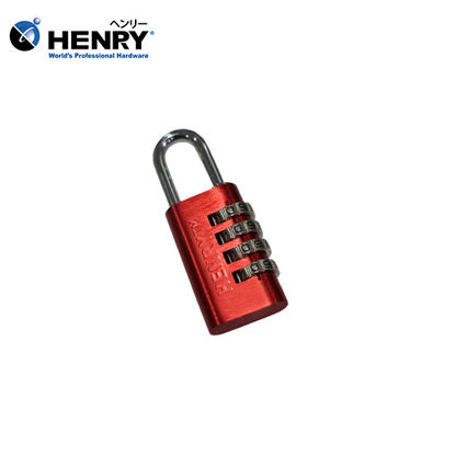 Picture of HENRY Aluminum Resettable Padlock