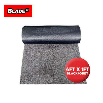 Picture of Blade Rubber Matting with Spike 4ft x 1ft (Black/Grey)