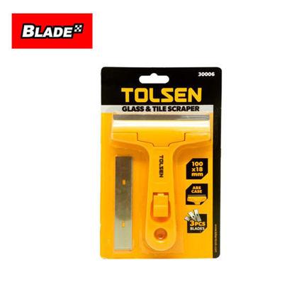 Picture of Tolsen Glass & Tile Scraper 100x18mm