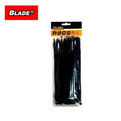 Picture of Tolsen Nylon Cable Tie 3.6 100pcs 50118 (Black)