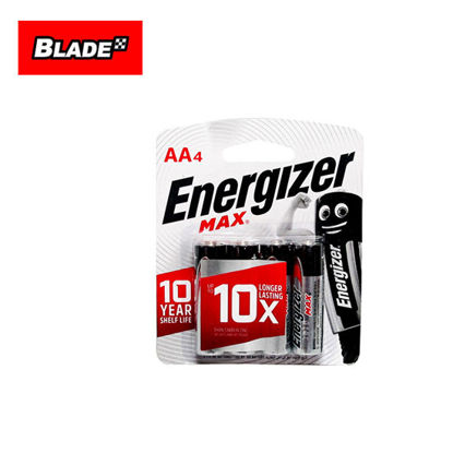 Picture of Energizer E91 MAX BP-4 AA 4 Pack 1.5V