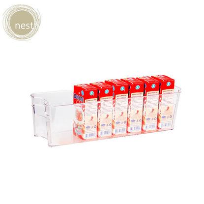 Picture of Nest Design Lab Premium Heavy duty Durable Narrow Fridge bin Refrigerator Organizer
