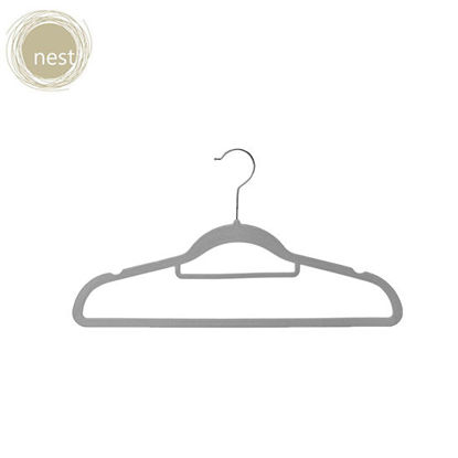 Picture of Nest Design Lab Premium Heavy duty Durable Velvet Hanger for Adults 42cm Set of 30