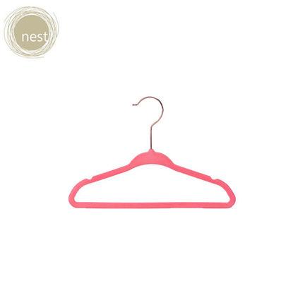 Picture of Nest Design Lab Premium Heavy duty Durable Velvet Hanger for Kids 28cm Set of 30