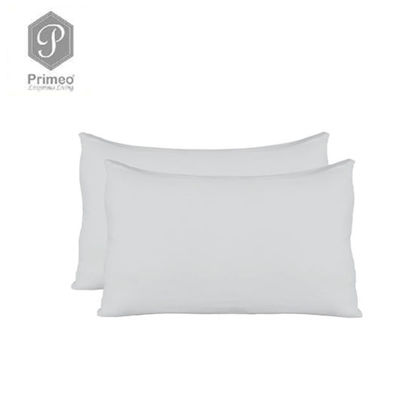 Picture of Primeo Premium 2 Pillow Case Set Standard Size 100% Cotton