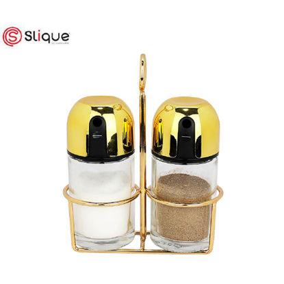 Picture of Signature by SLIQUE Premium Gold Salt & Pepper Shaker 100ml