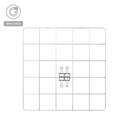 Picture of Gray Label Premium Memo Board Meshed Wire