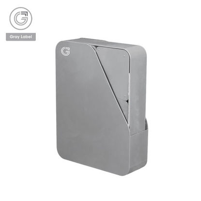 Picture of Gray Label Premium Office Desk Accessories Organizer High Impact Polystyrene Plastic Set of 8