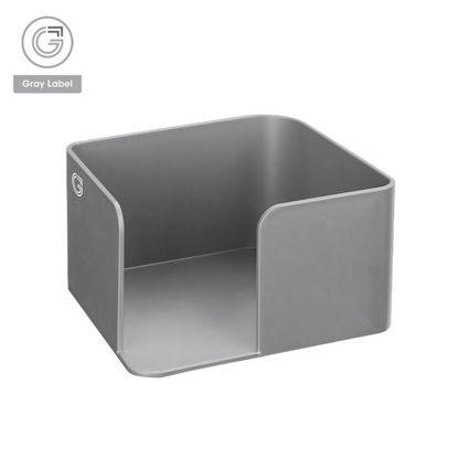 Picture of Gray Label Premium Memo Holder High Impact Polystyrene Plastic