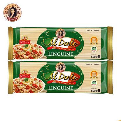 Picture of Doña Elena Al Dente Linguine Pasta 500g x 2