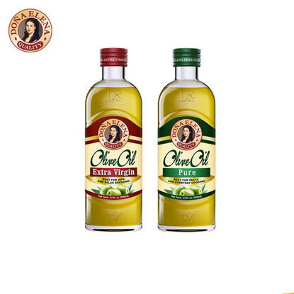 Picture of Doña Elena Extra Virgin Olive Oil 500ml + Doña Elena Pure Olive Oil 500ml