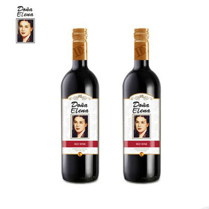 Picture of Doña Elena Red Wine 2 Bottles
