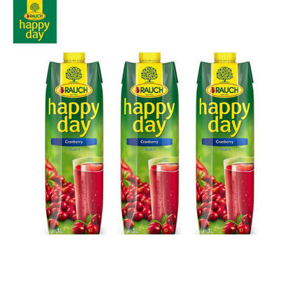 Picture of Happy Day Cranberry 1L x 3