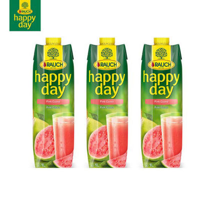 Picture of Happy Day Pink Guava 1L x 3