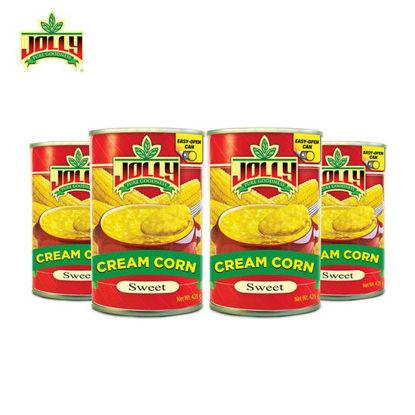 Picture of Jolly Cream Corn 425g x 4