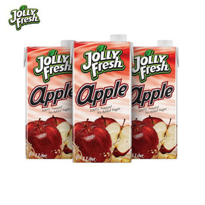 Picture of Jolly Fresh Apple Juice 1L x 3