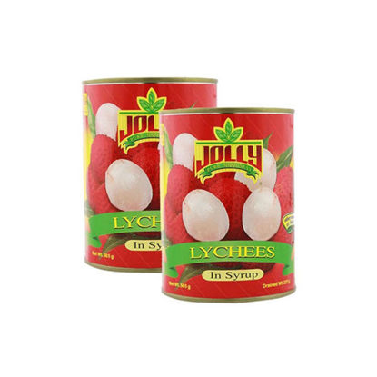 Picture of Jolly Lychee in Syrup 565g x 2