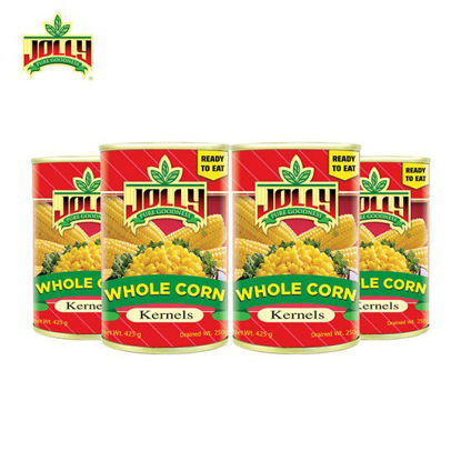 Picture of Jolly Whole Kernel Corn 425g x 4