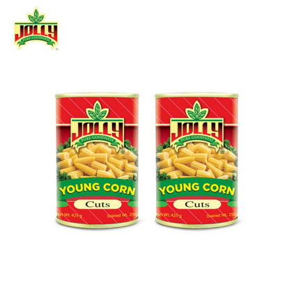 Picture of Jolly Young Corn Cut 425 g x 2