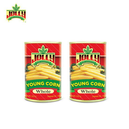 Picture of Jolly Young Corn Whole 425 g x 2