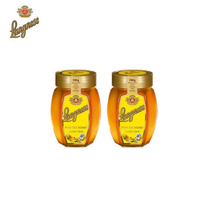 Picture of Langnese Golden Clear Honey 500g x 2